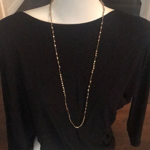 Lucky Brand boho knotted necklace
